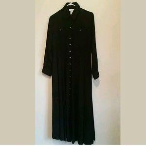 Soft Surroundings Maxi Dress Black